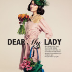A Lady for Spring – Editorial Singles Korea Janeiro/2012