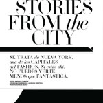 """Stories from the City"" – Editorial Elle México  Abril/2012"