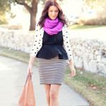 "♥ Look do dia ♥ – Quinta-feira ""Delicadeza no mix de estampas"""
